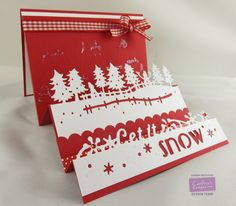 By: Kendra Wietstock for Crafter's Companion. Die'sire Fancy Edge'ables Christmas & Edge'able Words Christmas. @Crafter's Companion US #HSNCrafts