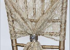 Lace Hood - Antique Gold