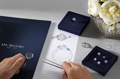 All of our diamonds are hand selected for their innate beauty #DeBeersDifference