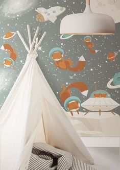Little Hands Wallpaper Mural - The wallpaper can be ordered in various sizes. We are like tailors, the wallpaper will fit perfectly on your wall, you just have to give us the measures you need