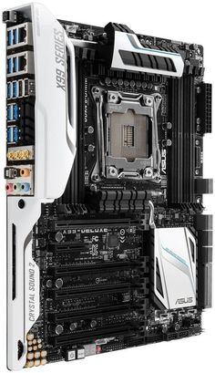 Asus Atx Ddr4 3000 Lga 2011-3 Motherboards X99-deluxe/u3.1 - $ 8.699,99 en MercadoLibre