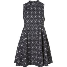High Neck Swing Dress by Boutique ($130) via Polyvore