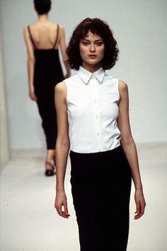 Shalom Harlow, Prada Spring 1996