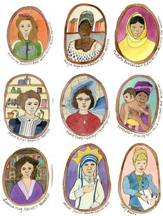 Brave Women Art Cards by Ashmae by Ashmae — Kickstarter