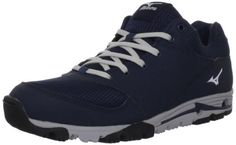 Mizuno Mens Mizuno Compete Turf ShoeNavyGrey10 M US -- You can find out more details at the link of the image.