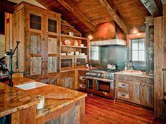 T3 Ranch Cabin Kitchen Design /Architecture