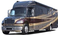 Yeah, I could sell the house and happily live right here in this Jayco Embark class C diesel motorhome.
