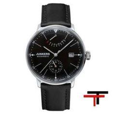 Relojes Junkers Bauhaus   http://www.tutunca.es/reloj-junkers-bauhaus-automatico-reserva-de-marcha-negro