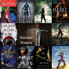 A collection of Young Adult Fantasy books which have inspired Sand Dancer! What makes a strong female character?