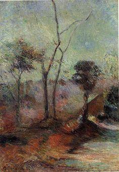 Landscape, Paul Gauguin, 1885