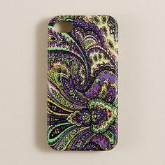 Paisley iPhone Case by jcrew: $25 #iPhone_Case #jcrew