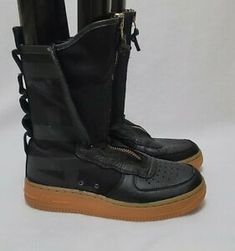West New York, Air Force 1 High, Black Gums, Athletic Shoes, Nike, Boots, Women, Self, Crotch Boots