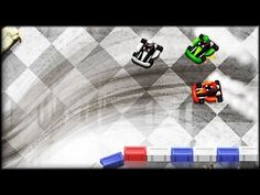 Kart Fighter lets you race inside government offices which rack up much of its plus points. Race around the office in this top view racing game and work your way from last to first in each race. Learn and master the steering controls and you'll be on your way to be the first in each race. Look out for tables and chairs that might slow you down and don't over steer, trust me. More info and link to play game, you can find it here: http://www.freegamesexplorer.com/games/videos/kart-fighter/