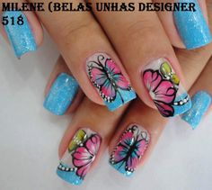 BUTTERLY NAILS!