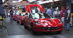 The Sights and Sounds of the Corvette Plant in Bowling Green, Kentucky