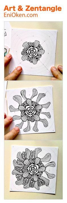 Learn to make beautiful Zendalas • enioken.com