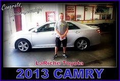 Great choice Brian! Have fun in your new ride Toyota Camry! The perfect ride to get you from point A to Point B!
