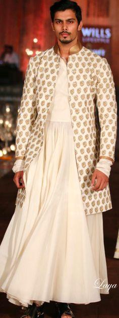 Rohit Bal Spring/Summer 2015❋Laya❋ India Fashion Week, Lakme Fashion Week, Fashion Weeks, Summer Wedding Suits, Rohit Bal, Man Skirt, Indian Fashion, Male Fashion, Red Carpet Event