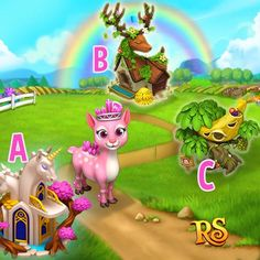 Happy Weekend Quiz Time! Play Now!  http://t.funplus.com/trenfpu  Greetings everyone! Time for this week's quiz! Here we go!  Miss Crystal Deer lost her way home. Help her please!   COMMENT your answer now together with your SNSID (at the bottom of your game screen) to have a chance to WIN A RUBY!! Come back on Monday to check your luck!  Hit LIKE & SHARE when you write down your answer! Good Luck! #RoyalStoryTwitter