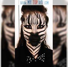 Zebra Makeup Tutorial