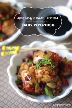Baby Potatoes make Perfect Appetizers  1-30-2015