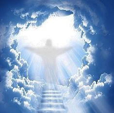 The heavens are telling, love the lord, gods love, pictures of christ, god pictures Heaven Painting, Jesus Painting, Heaven Pictures, God Pictures, Heaven Images, Stairs To Heaven, Akiane Kramarik, Heaven Tattoos, Angel Clouds