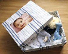 Süße Baby-Box. ©Kodak