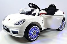 2016 Porsche Boxster Style Power Wheels for Kids 12V Engine with Parent Remote Control