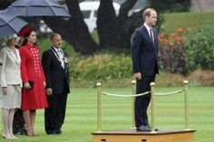 The Duke and Duchess of Cambridge are spending three weeks in New Zealand and Australia. April 7, 2014