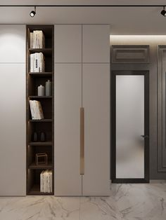Flat on Pechatnikov on Behance Bedroom Cupboard Designs, Bedroom Closet Design, Home Room Design, House Design, Wardrobe Door Designs, Wardrobe Doors, Closet Designs, Hall Wardrobe, Apartment Projects