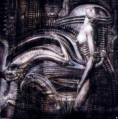 Ганс Руди Гигер: Biomechanical Mia, Egyptian Style