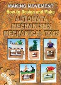Automata are wooden toys that move with gears, levers, and pulleys.  So fun!