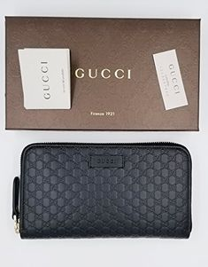 331eacac35e3 Gucci Guccissima Leather Continental Large Clutch Wallet. Fall Handbags ...