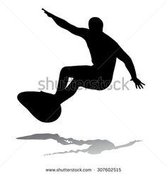 surfer silhouette - Buscar con Google