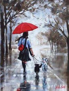 ImpressioniArtistiche: Helen Cottle. I love the rain