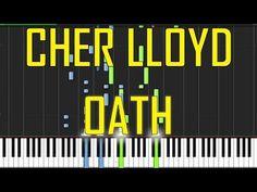 Cher Lloyd Oath ft Becky G Piano Tutorial