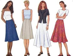 Butterick 3134 Fast & Easy Sewing Pattern Misses by PatternWalk