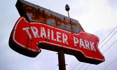 vintage dallas neon signs | Trailer Park - Dallas TX | Flickr - Photo Sharing!