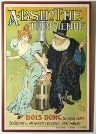 "Parisian Absinth : ""Just drink, you'll see afterwards..."""