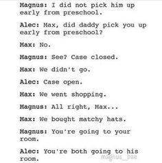 Malec & their warlock son, Max♥:D Immortal Instruments, Mortal Instruments Books, Shadowhunters The Mortal Instruments, Shadowhunters Malec, Clace, Serie Got, Nos4a2, Magnus And Alec, Magnus Chase
