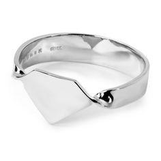 MEHEM silver diamond cut ring  MH123-JR178-600 #mehem #ring #silver #rhodiumplated #diamond #em #normcore #emgrp