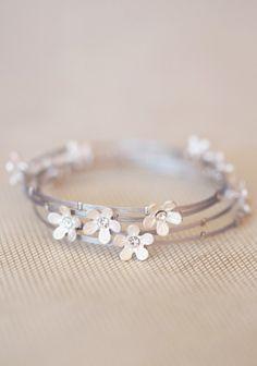 Floral Interlude Bracelets