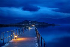 'The sound of silence at Prespes lakes' by Hercules Milas Still Of The Night, Love Bridge, Macedonia Greece, Water Me, Thessaloniki, Hercules, Places To See, Scenery, Island