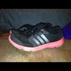 Womens Adidas running shoes sz 7.5 These are very gently used , in great shape ! Adidas Shoes Athletic Shoes