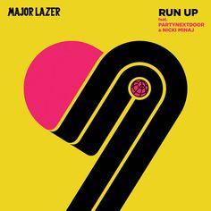 """""""Run Up"""" by Major Lazer PARTYNEXTDOOR Nicki Minaj was added to my Starred playlist on Spotify"""
