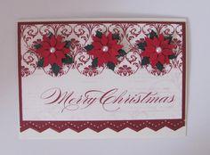 Poinsetta Christmas Card - Scrapbook.com
