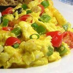 Veggie Egg Scramble w/ Cheese