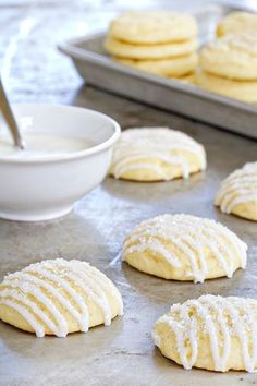 Pound Cake Cookies | My Baking Addiction | Bloglovin'