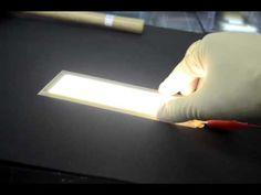 LG Chem flexible OLED lighting panel