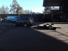 Subaru forester con  carro
